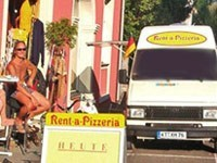 Mobile Pizza-Bäckerei - Franchise